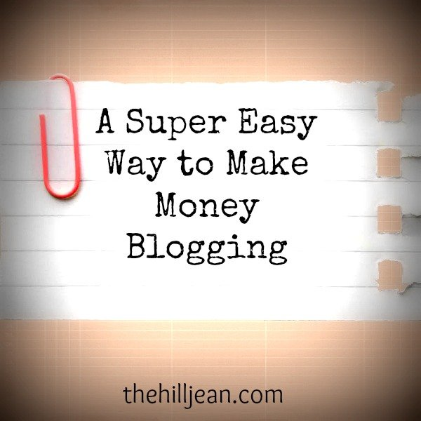 Making money from blogging guardian