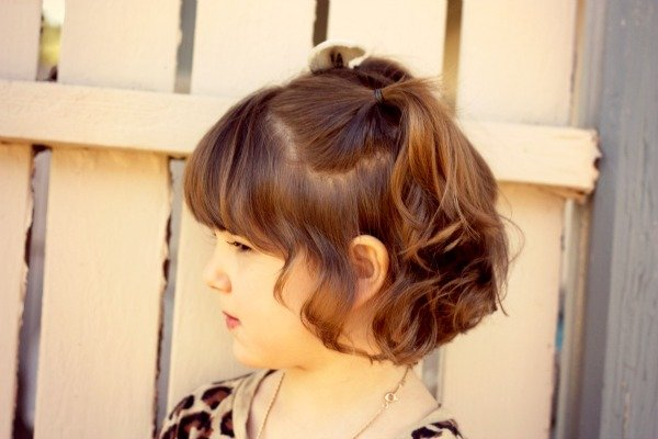 Best Hairstyles For Little Girls With Short Hair - Hairstyle for short hair little girl