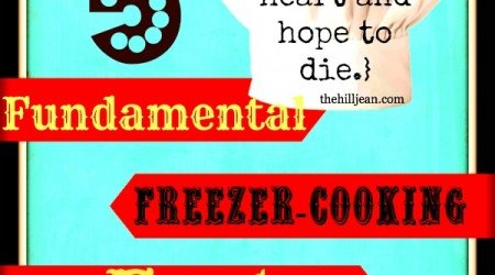 5 fundamental freezer food