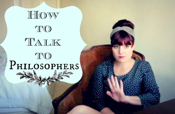 how to talk to philosophers