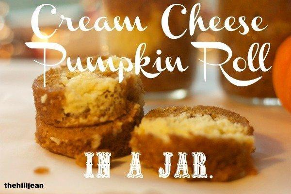 cream cheese pumplkin roll
