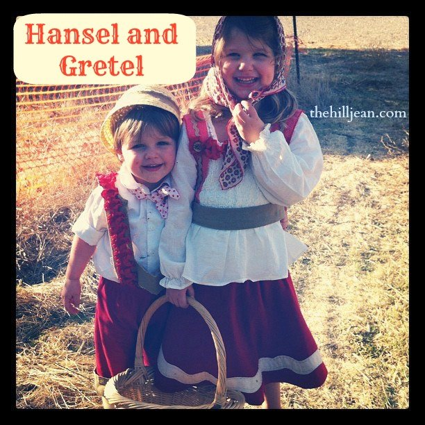 DIY hansel and gretel