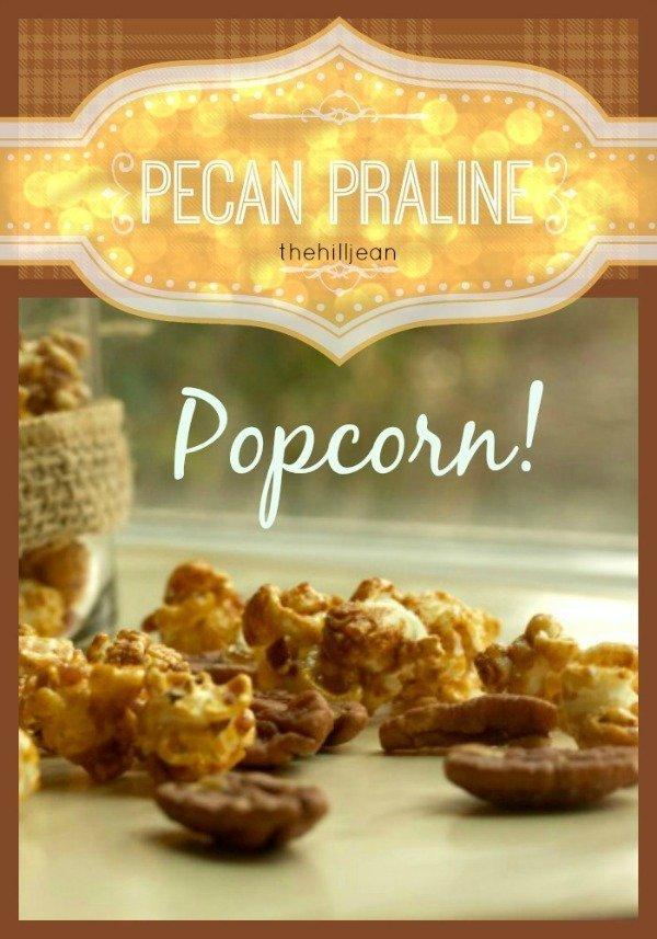 pecan popcorn
