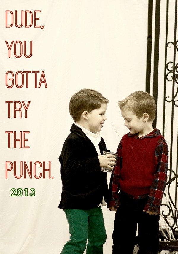 try the punch small