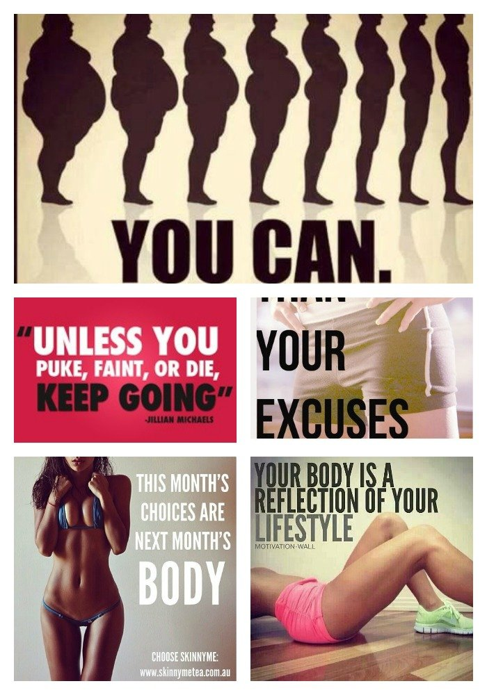 fitness collage