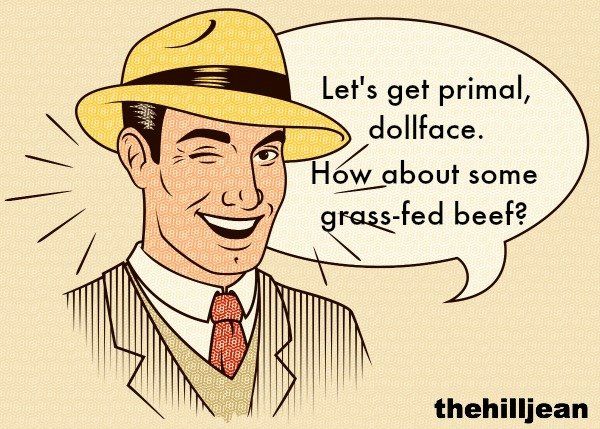 Gras fed beef