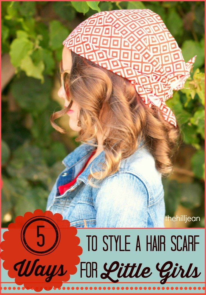 how to style a hair scarf