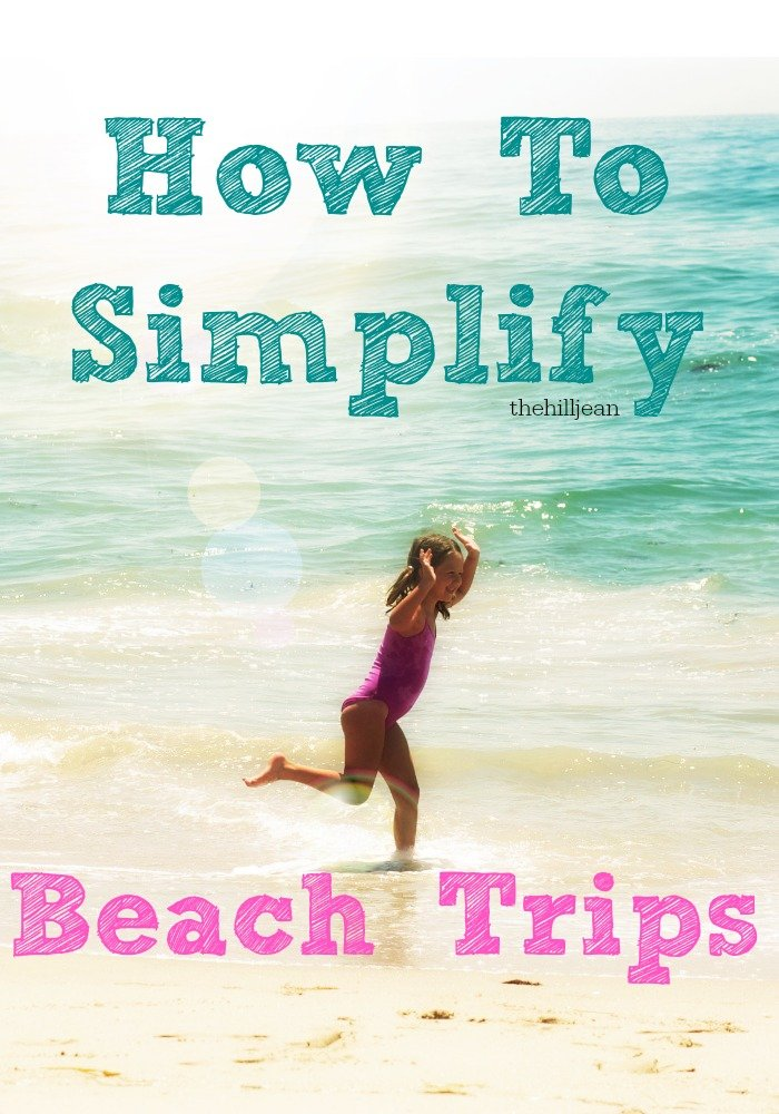 3 Things That Simplify The Beach