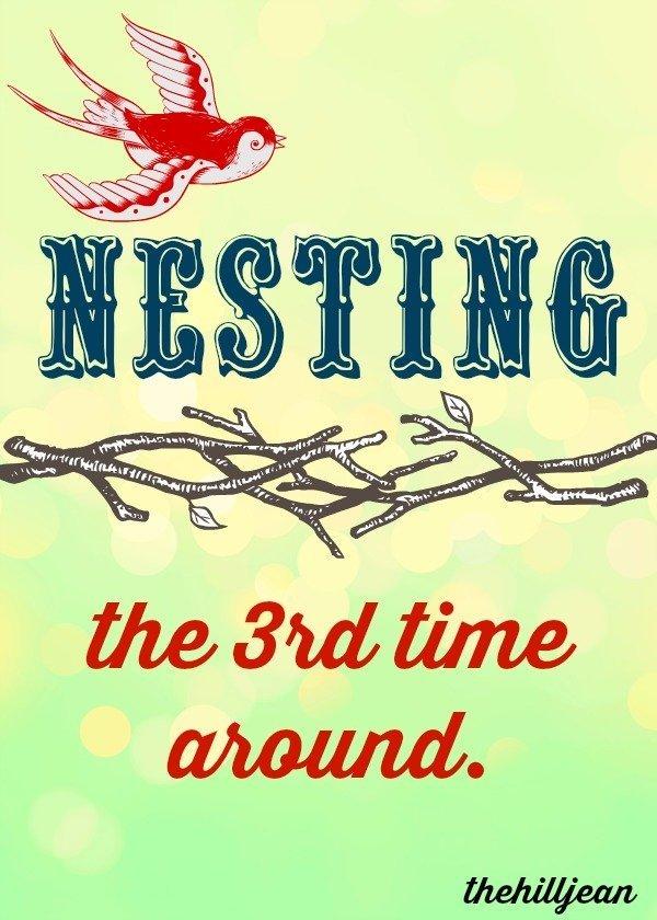 Nesting pin