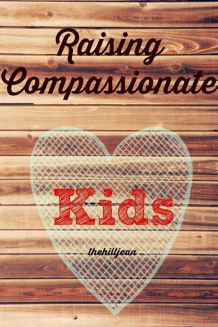 Compassionate kids pin