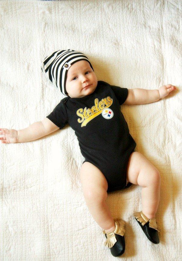 baby boy moccasins
