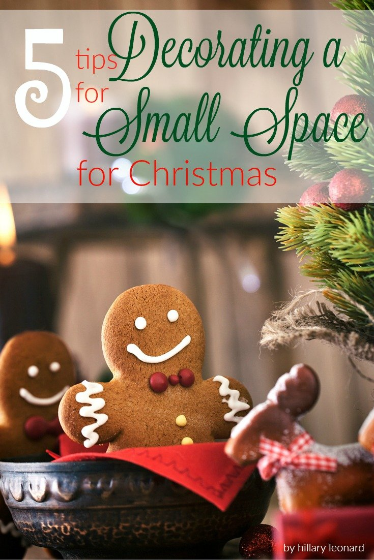 decorating a small space for christmas